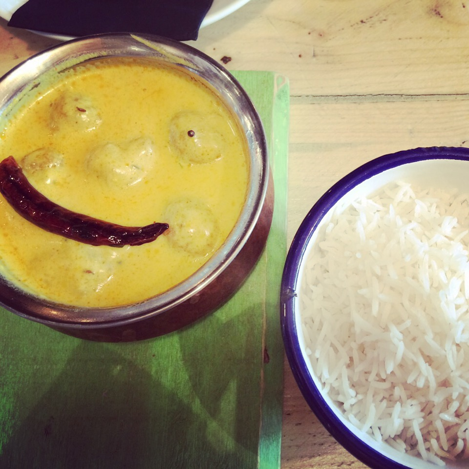 pakora kadhi at inito UK