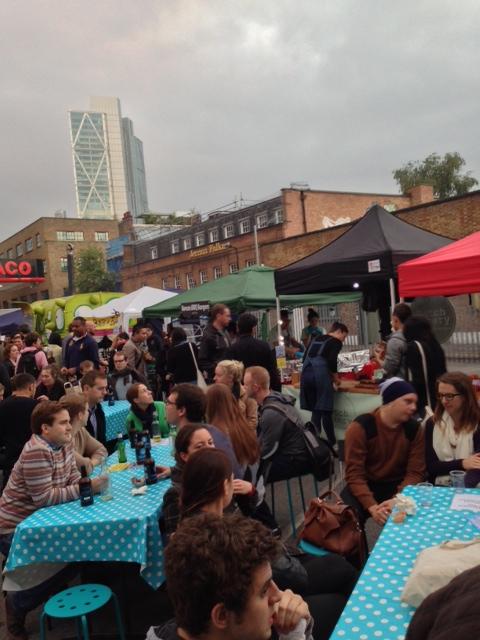 urban food fest crowd