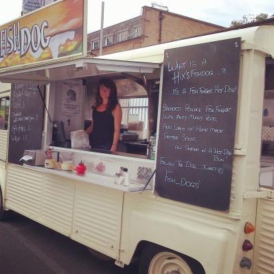 Fish Dog trailer at Urban Food Fest