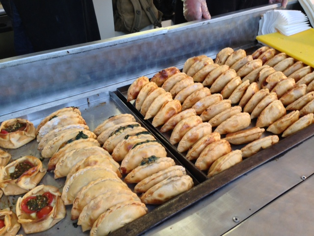 selection of empanadas by Portena London