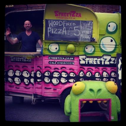 Streetza stall at Urban Food Fest