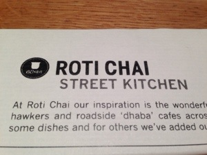 Roti Chai- Street Kitchen