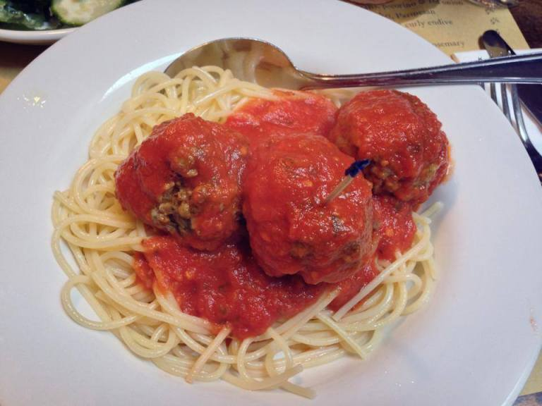 veal meatballs polpo