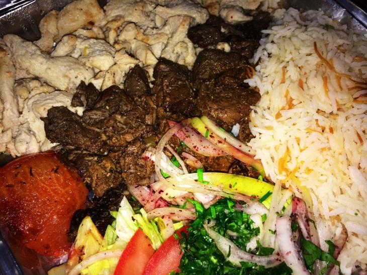 Shawarma, The Cedar Maida Vale