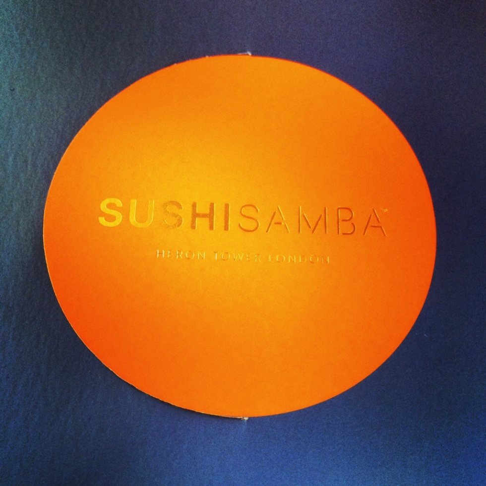 Sushi Samba- Heron Tower