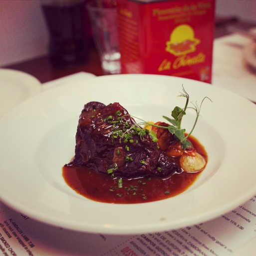 ox cheek, tapas brindisa soho