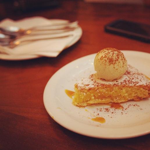 dessert at Tapa Brindisa