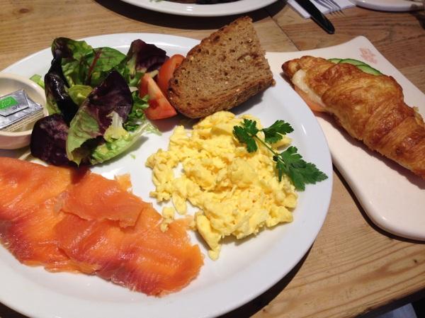 breakfast, le pain quotidien