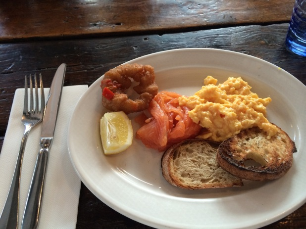 breakfast at riding house cafe