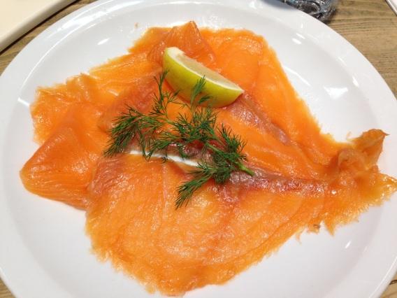 salmon, le pain quotidien