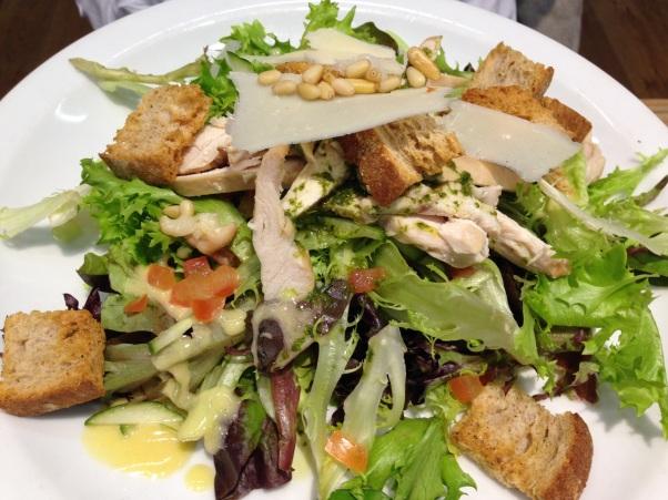salad, le pain quotidien