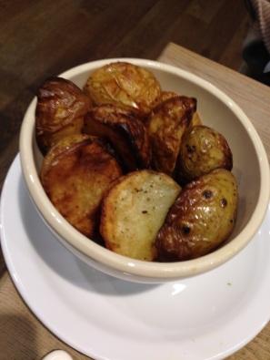 Roast potatoes, La Pain Quotidien