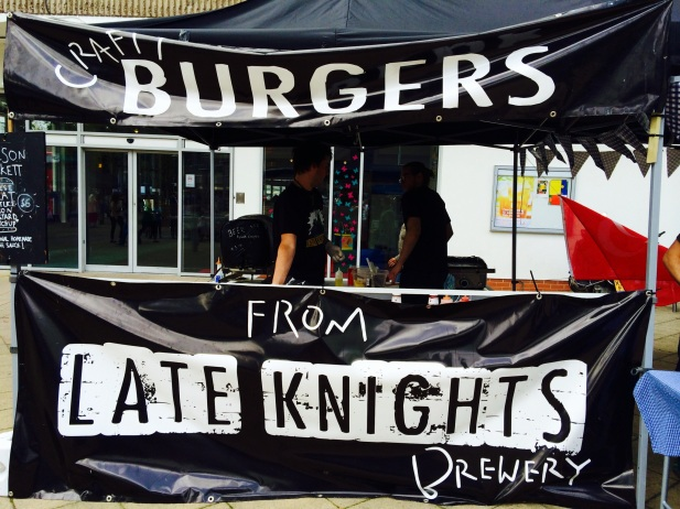craft burgers bite street food