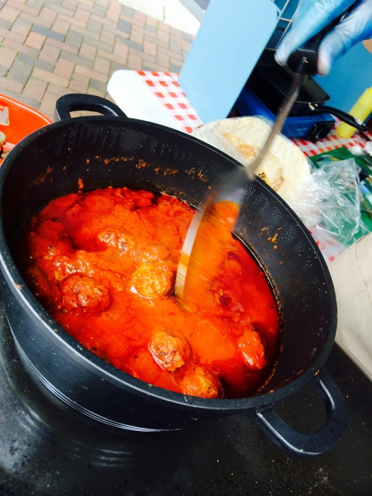 Moroccan Meat Balls, Sticky Beaks