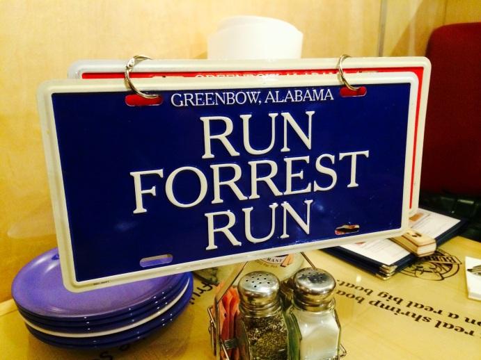 run forrest run sign