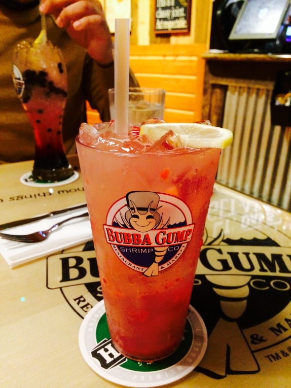 Lemonade at bubba gump shrimp london