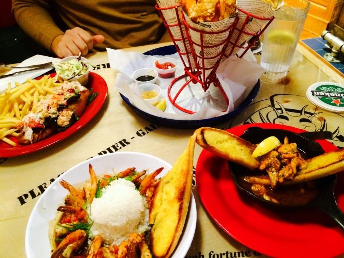 food at bubba gump shrimp