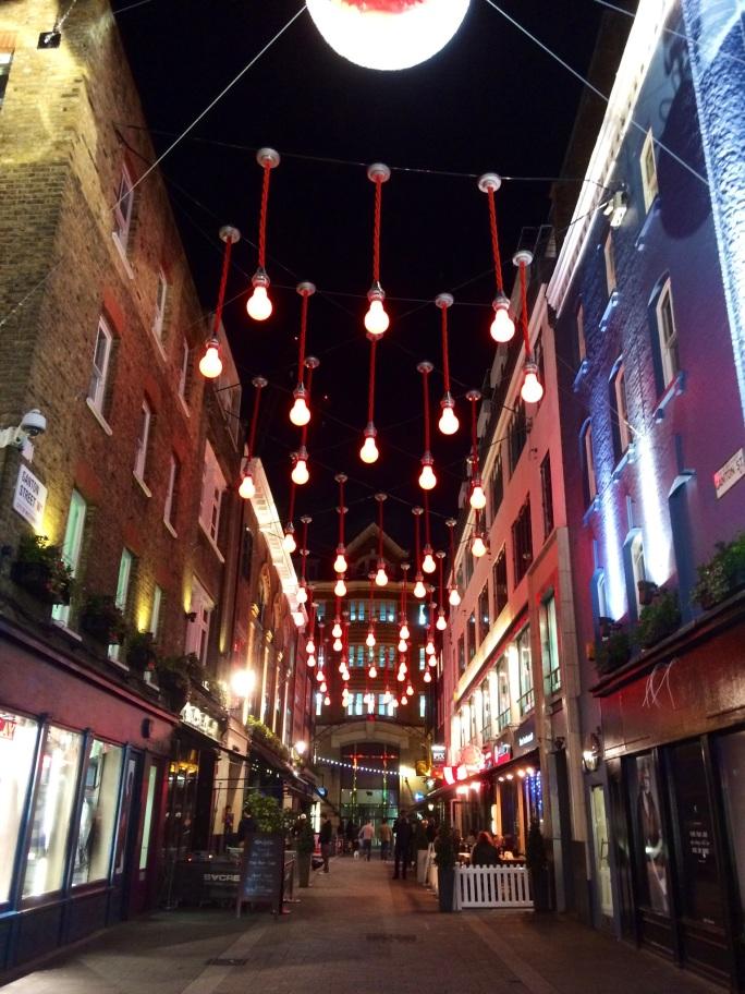 christmas lights carnaby street 2014