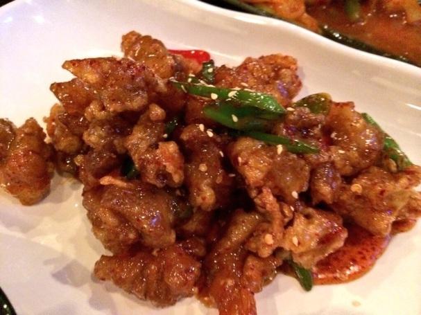 Kangpoongi at Jin Go Gae New Malden