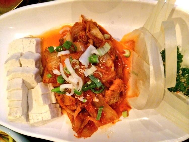 Dubu Kimchi at Jin Go Gae