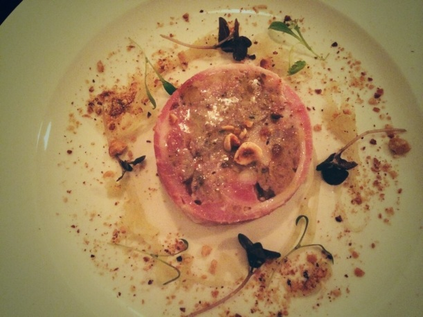 rabbit terrine starter at bourne and hollingsworth clerkenwell