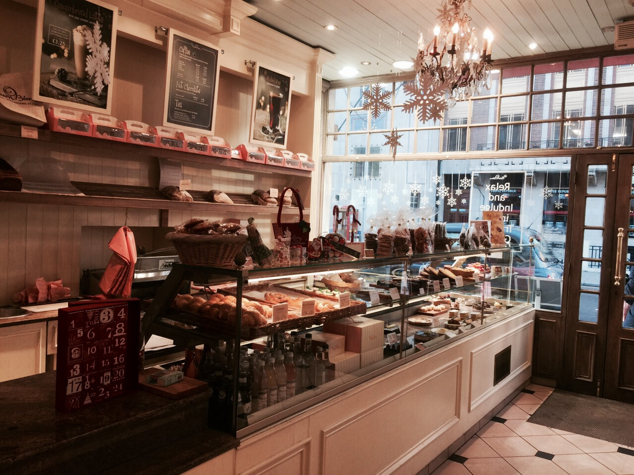 Christmas treats from maison blanc fulham food diaries for Maison london