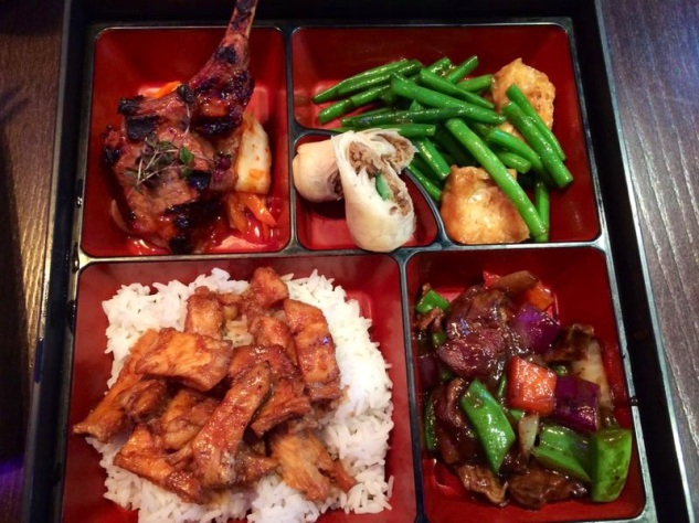 meat bento box at Cocochan London