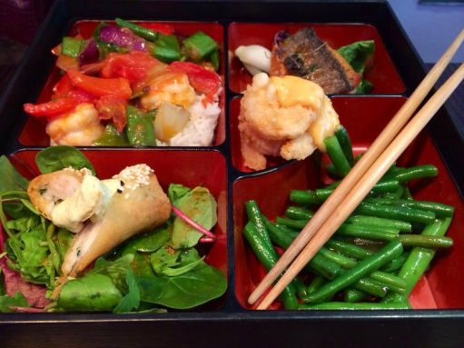 seafood bento box at Cocochan London