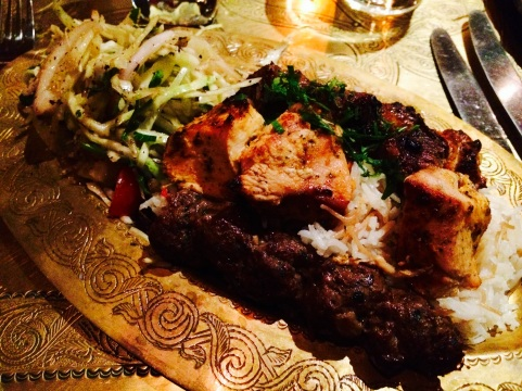 Mixed Grill at Levant London