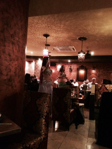 belly dancing at levant london