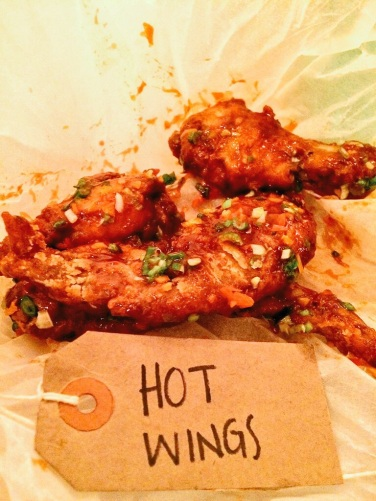 hot wings at the joint marylebone london