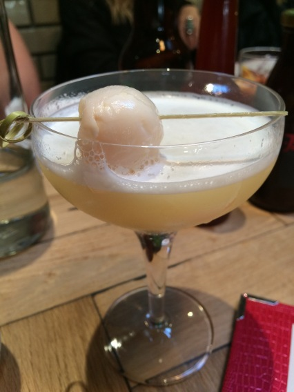 The Lychee drink at Joe's Kentish Town