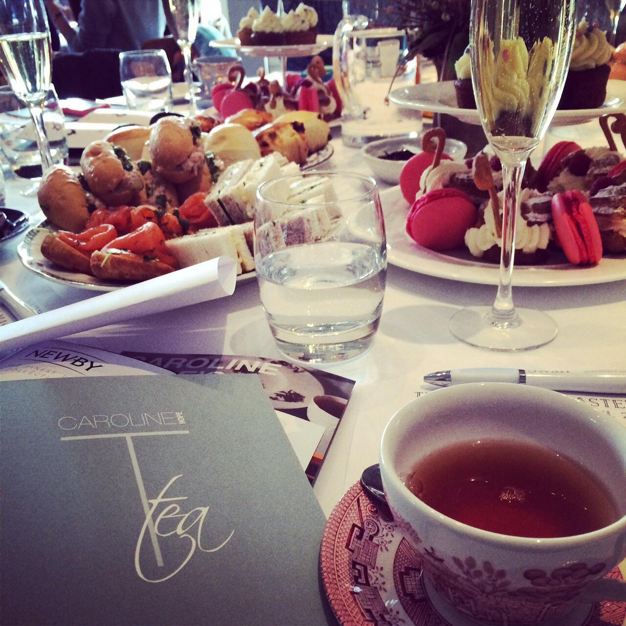 Afternoon Tea at Swan, Shakespeare Globe