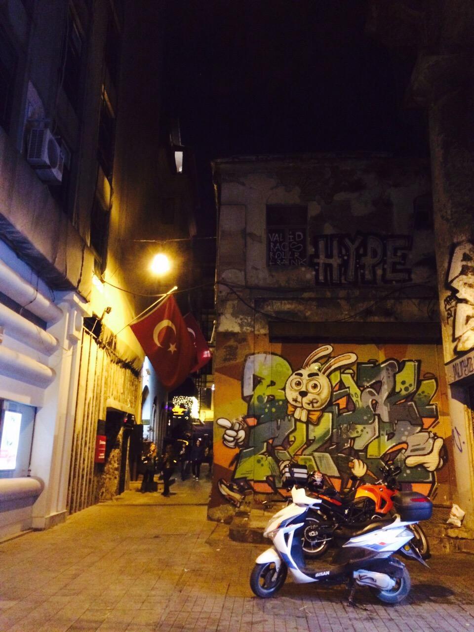 Taksim in Istanbul Turkey