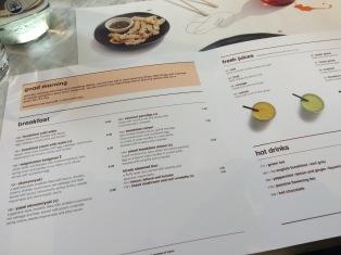 menu at wagamama great marlborough street soho
