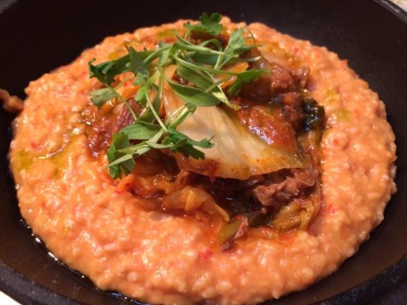 beef porridge at pachamama london