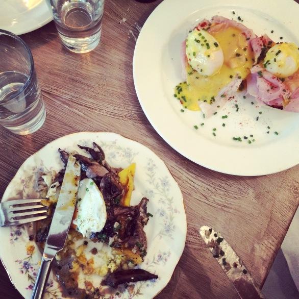 brunch at egg break london notting hill