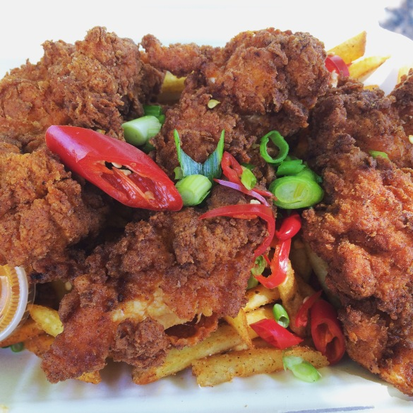 fried chicken by mother clucker london kerb food south india quay