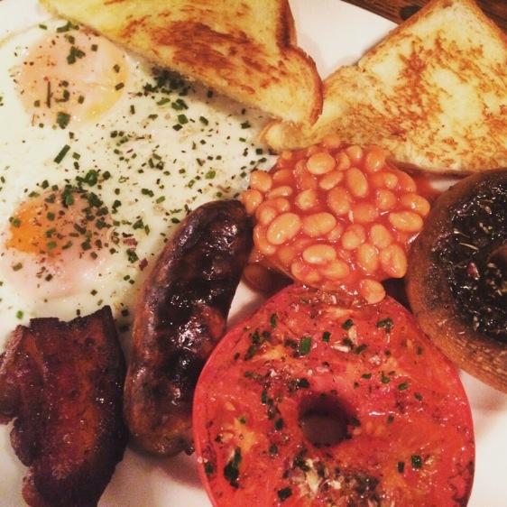 classic english breakfast electric diner portobello road london