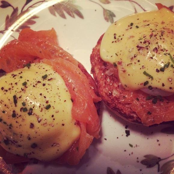 eggs royale at electric diner portobello road london