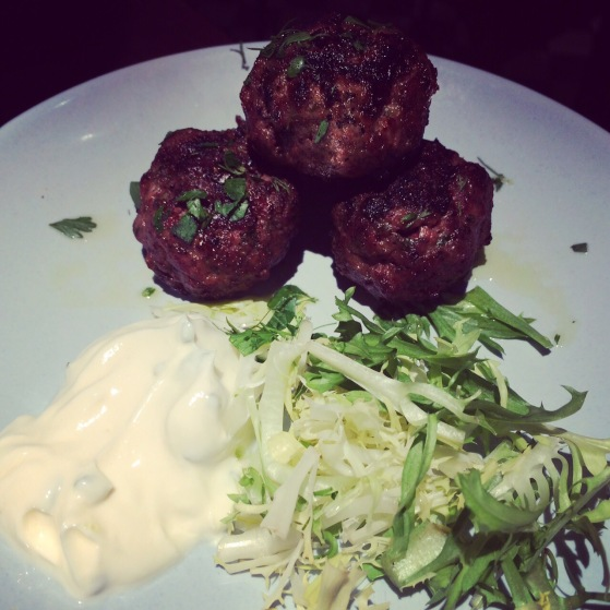 homemade lamb burgers at the real greek covent garden