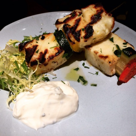 vegetarian dish at the real greek covent garden