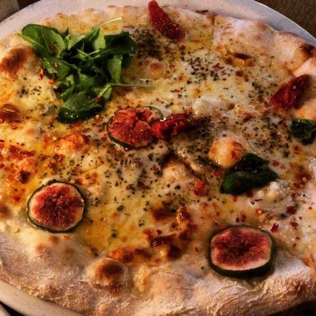 pizza at Vapiano