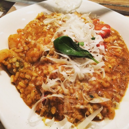 special risotto at Vapiano Soho
