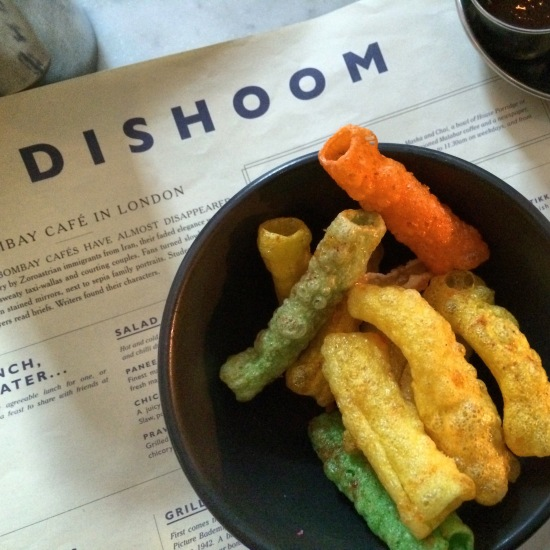starters at Dishoom Covent Garden