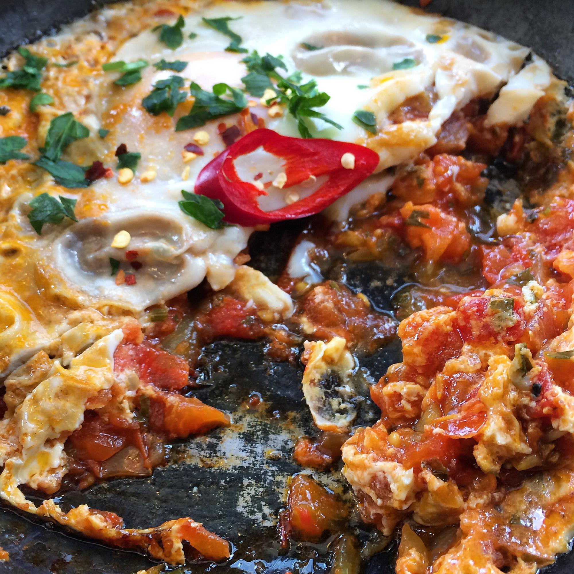 traditional persian omelette gitane london