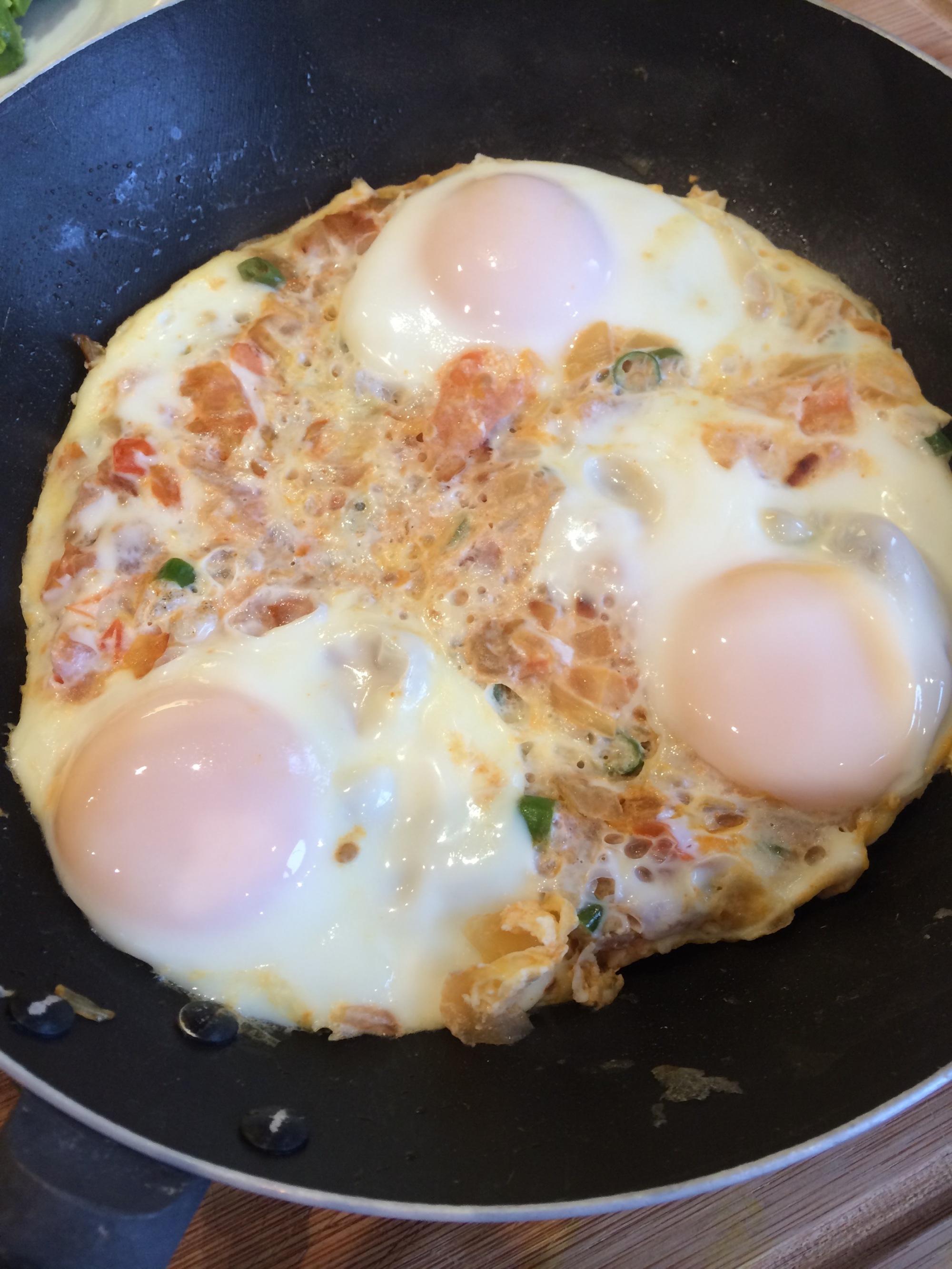 friend masala eggs at home