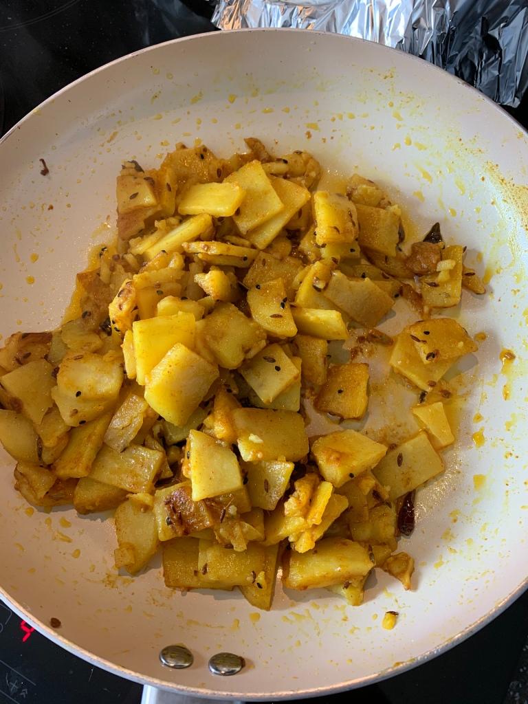 Pakistani Potato fry
